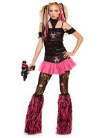Miss Cyanide Adult Costume