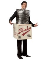 Slinky In A Box Adult Costume