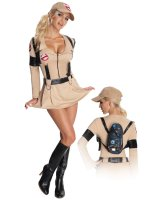 Ghostbusters Sexy Adult Costume - Small