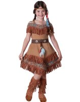 Indian Maiden Child Costume - Size 8