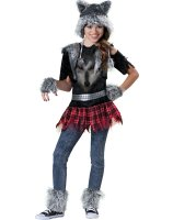 Wear Wolf Tween Costume - 8-10