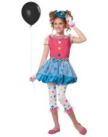 Dotsy Clown Plus Child Costume