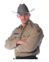 Sheriff Shirt Adult Plus Costume