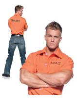 Prisoner Shirt Adult Plus Costume