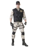 SEAL Team Standard Adult Costume - One-Size
