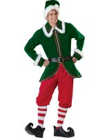 Santa's Elf Adult Costume - Large