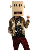 LMFAO Shuffle Bot Party Rock Anthem Adult Costume - Standard