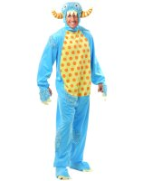 Blue Mini Monster Adult Costume