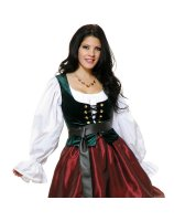 Evergreen Corset Bodice Adult - Medium