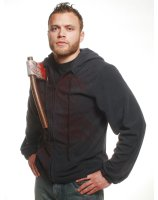 Hoodie with Bloody Axe Plus Adult Costume