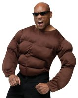 Dark Muscle Shirt Adult Costume