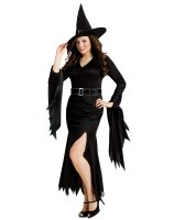Gothic Witch Adult Plus Costume - One-Size (Plus)
