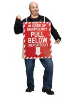 In Case of Emergency Adult Costume