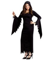 Hooded Gown Adult Plus Costume - One-Size (Plus)