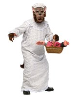 Big Bad Granny Wolf Adult Costume - One-Size (Standard)