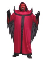 Prince of Darkness Adult Plus Costume - Plus