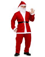 Pub Crawl Santa Suit Adult Costume - One Size