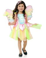 Rainbow Princess Fairy Toddler Costume - 2/4T