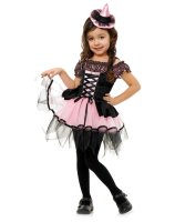 Black and Pink Witch Toddler Costume