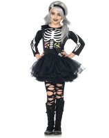 Scary Skeleton Child Costume