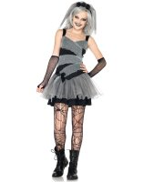 Dearly Departed Bride Teen Costume - Small/Medium