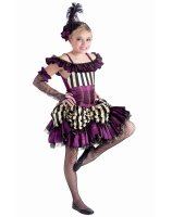 Can Can Sally Child Costume - Small/Medium (6-8)