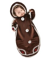 Gingerbread Bunting Infant Costume - 0-6 Months