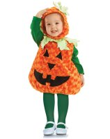 Pumpkin Toddler Costume - 2T-4T