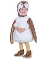 White Barn Owl Toddler Costume - 2T-4T