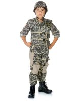 U.S. Army Ranger Deluxe Child Costume - 10-12
