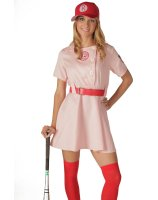A League Of Their Own Rockford Peaches Adult Costume - Medium/Large