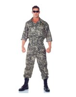 U.S. Army Jumpsuit Adult Plus Costume
