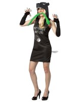 Honey Badger Dress Adult Costume - Medium/Large
