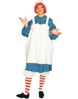Raggedy Ann Adult Costume - Standard One-Size