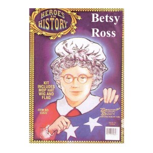 Heroes in History - Betsy Ross Accessory Kit - Black / One Size
