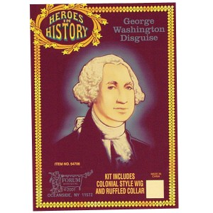 Heroes In History - George Washington Accessory Kit - Black / One Size