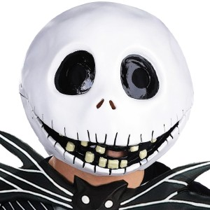 The Nightmare Before Christmas Jack Skellington Mask - White / One Size