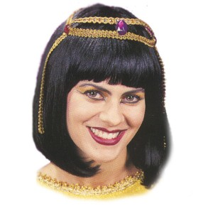 Wig Cleopatra - Black / One Size