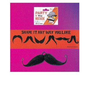 Moustache Six Way Black