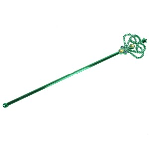 Green Mardi Gras Scepter