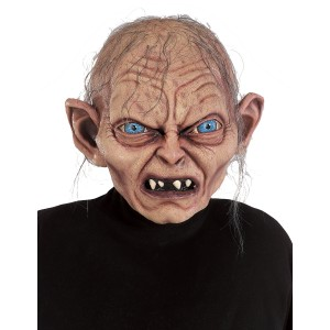 Gollum Mask- Lord Of The Rings - Gray / One Size
