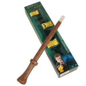 Harry Potter Deluxe Magical Wand - Brown / One Size