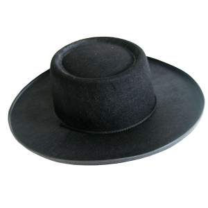 Spanish Hat - Black / One Size