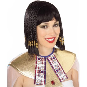 Queen of the Nile Wig - Black / One Size