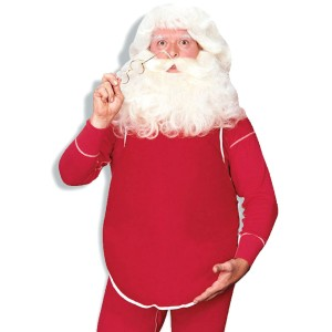 Santa Belly Economical - White / One Size