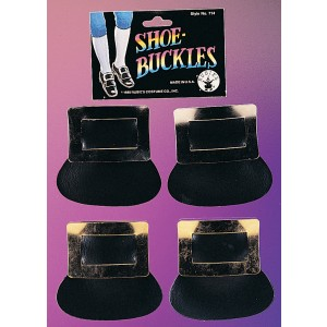 Colonial Shoe Buckles Gold - Gold
