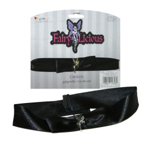 Fairy-Licious Choker - Black / One Size