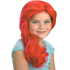 Disney The Little Mermaid Ariel Wig Child - Red / One Size