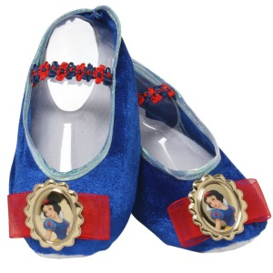Disney Snow White Ballet Slippers Child - Blue / One-Size