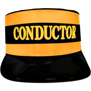 Conductor Hat Economy - Black / One Size